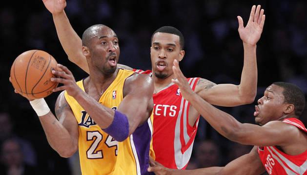 Kobe Bryant durante el partido
