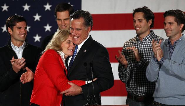 El ex gobernador de Massachusetts Mitt Romney.