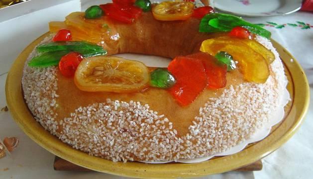 Un roscón de Reyes