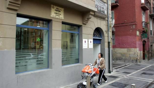 El centro Compañía de Pamplona
