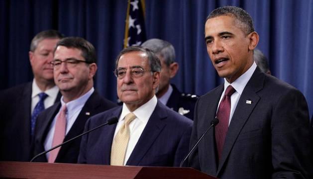 Obama, en el Pentágono