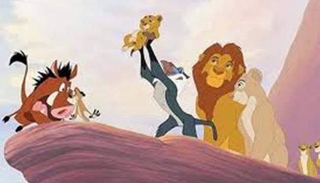 Una de las escenas de la película de Disney