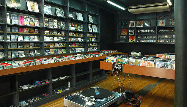 Interior del local Cd Drome en Barcelona