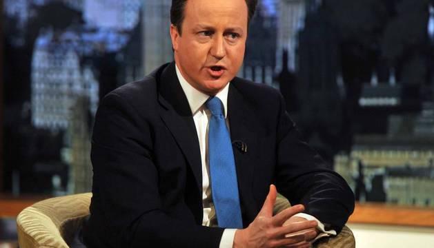 l primer ministro británico, David Cameron