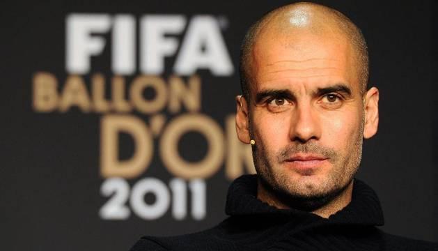 Pep Guardiola, mejor entrenador del año 2011