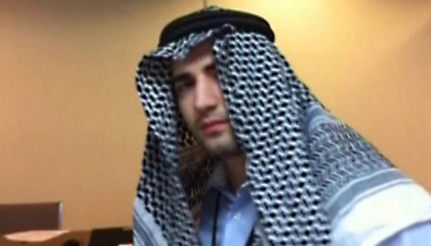 El estadounidense Amir Mirzaei Hekmati, condenado a muerte en Irán, en una imagen de la televisión iraní