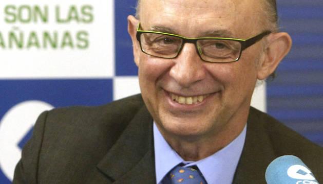 El ministro de Hacienda, Cristóbal Montoro, insistió en que el Ejecutivo quiere promover el