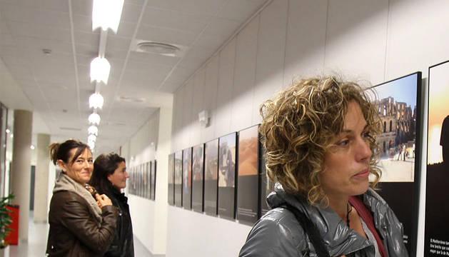 Imagen de la exposición fotográfica sobre el Magreb en la UPNA