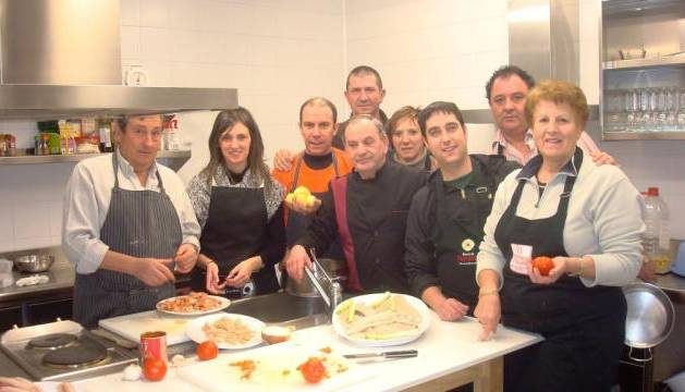 El curso de cocina impartido para once personas toca - Cursos cocina pamplona ...