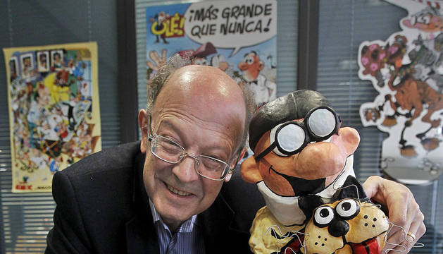 El dibujante Franciso Ibáñez, 'padre' de Mortadelo y Filemón