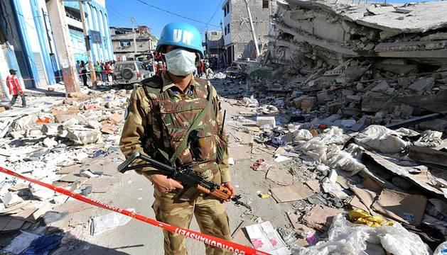 El 12 de febrero de 2012 se cumplen dos años del terremoto que asoló Haití. Las ONG internacionales piden que se mantenga la inversión para la reconstrucción del país.