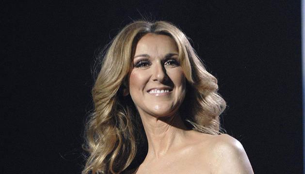 Celine Dion en una imagen de 2008