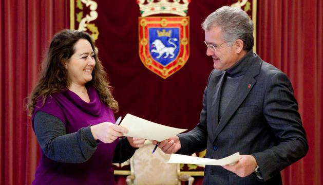 En la firma del convenio