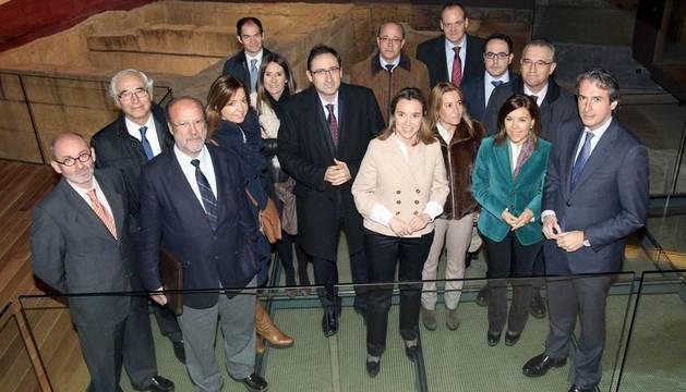 Los alcaldes, concejales y representantes de las ciudades que han puesto en marcha la
