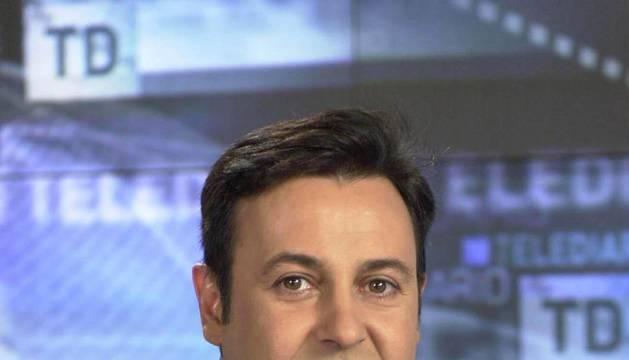 El presentador José Ribagorda