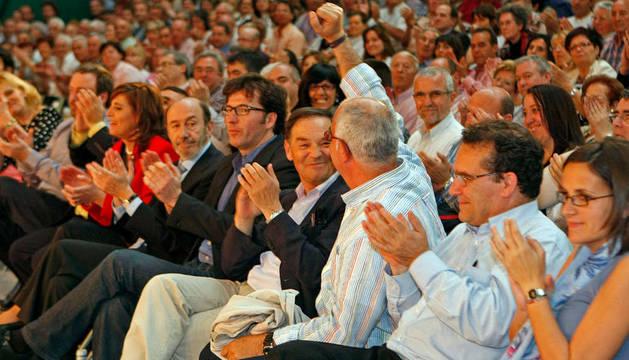Rubalcaba, el pasado mes de mayo, en un acto en Navarra
