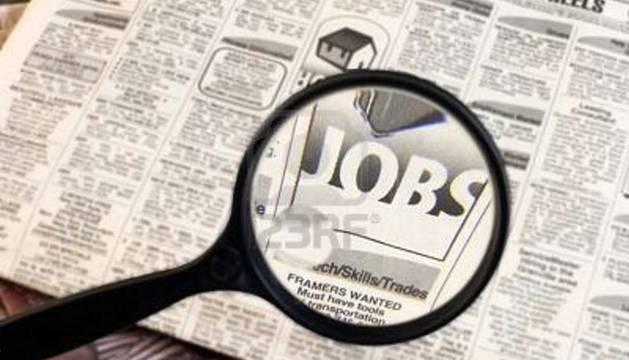 Anuncios de empleo en el diario