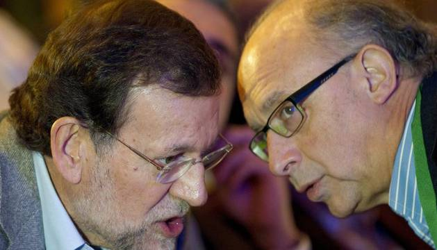 Rajoy con Montoro