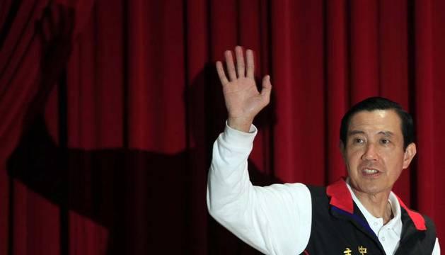 El presidente taiwanés, tras conocer los resultados oficiales