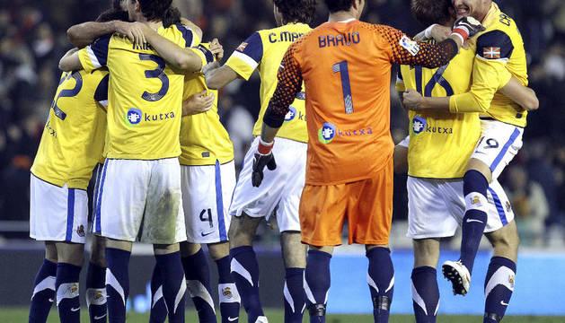Valencia-Real Sociedad.
