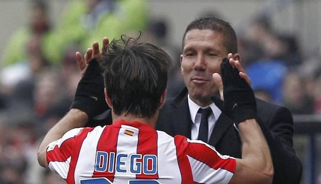 Diego y Simeone.