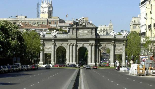 La Puerta de Alcalá de Madrid