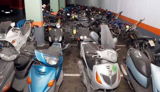 Subasta de motos del Ayuntamiento de Pamplona