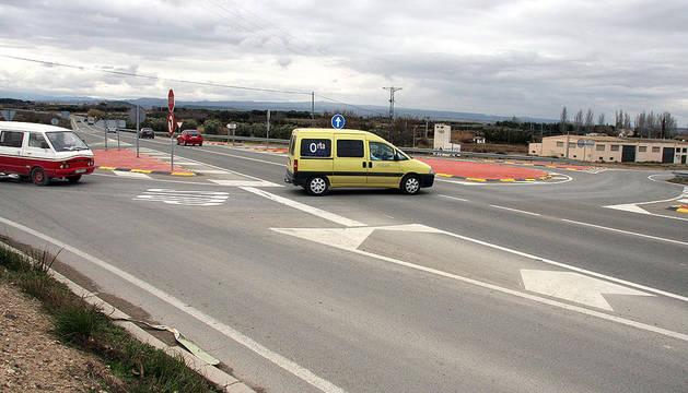 Fragmento de la carretera N-121-C, donde ha tenido lugar el accidente