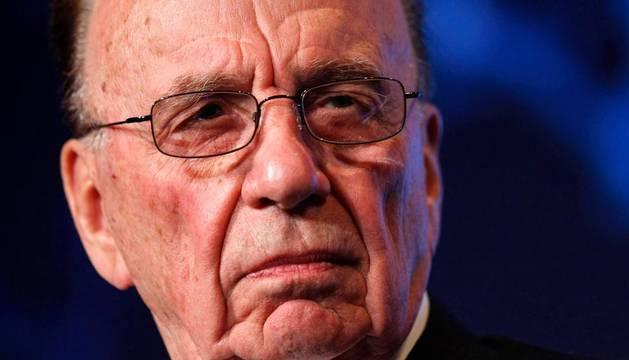 El magnate de la comunicación Rupert Murdoch