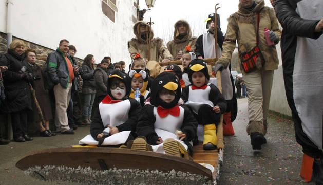 En los carnavales de Sunbilla