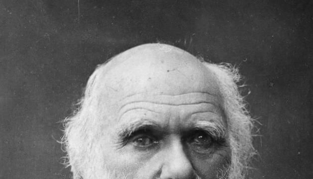 Imagen de archivo del científico británico Charles Darwin