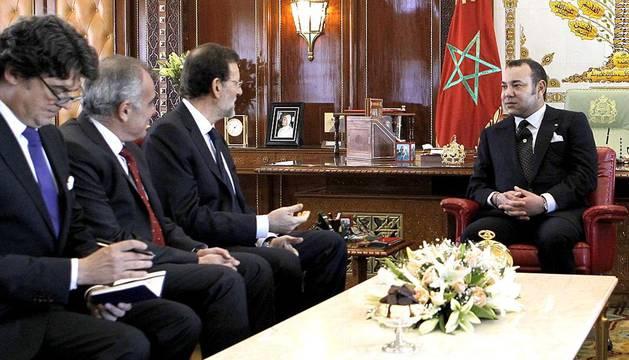 Primera visita institucional de Rajoy a Rabat (Marruecos)