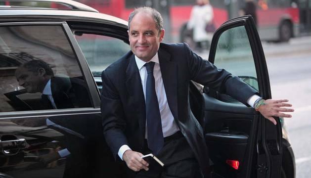 El ex presidente de la Generalitat Francisco Camps