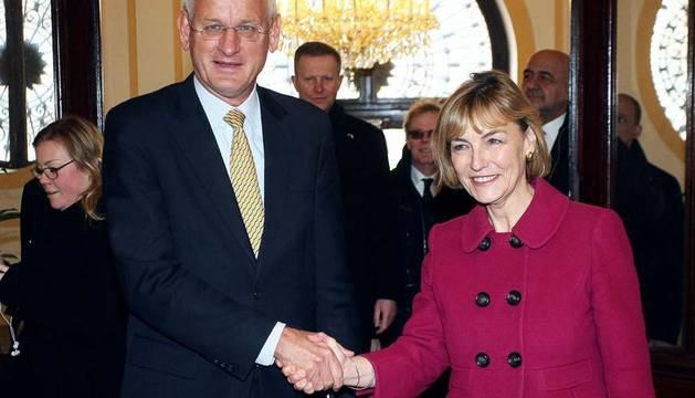 La ministra de Exteriores, Vesna Pusic