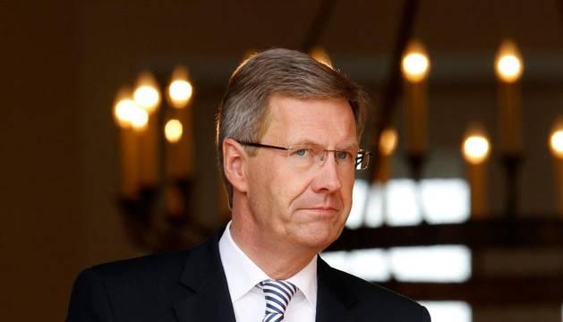 El presidente alemán, Christian Wulff