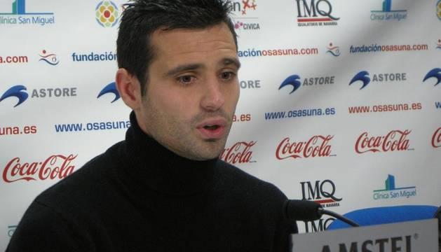 Miguel Flaño, defensa del Club Atlético Osasuna