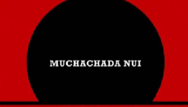 Presentación de uno de los vídeos de Muchachada Nui