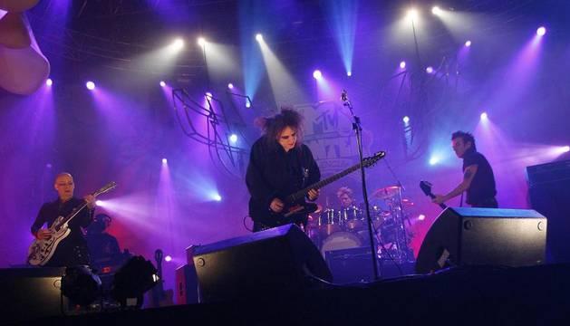 En un concierto de The Cure