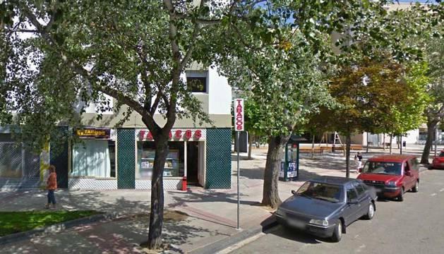 Imagen de la calle de la Chantrea donde se llevó a cabo el intento de robo.