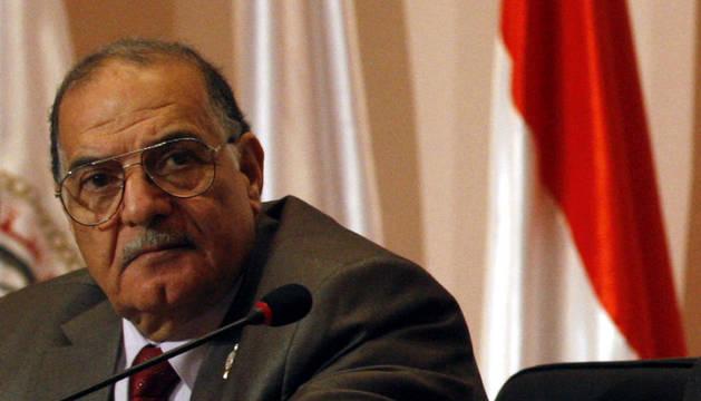 El presidente de la Comisión Suprema Electoral egipcia, Abdelmoaiz Ibrahim
