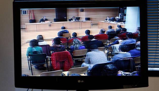 En la primera sesión del juicio del crimen de Tudela