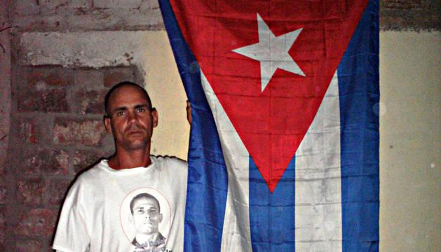 Fotografía cedida vía la Unión Patriótica de Cuba (UNPACU), que muestra al disidente Wilman Villar, fallecido por una huelga de hambre de unos 50 días que inició en prisión al ser condenado noviembre a cuatro años de cárcel