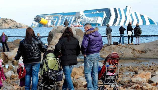 Ante el 'Costa Concordia'