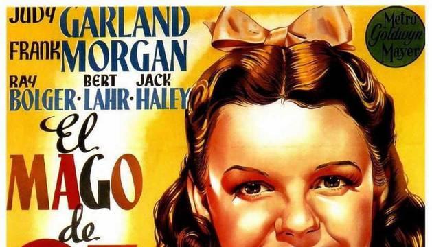 Cartel de la película 'Mago de Oz' (1939) de Victor Fleming