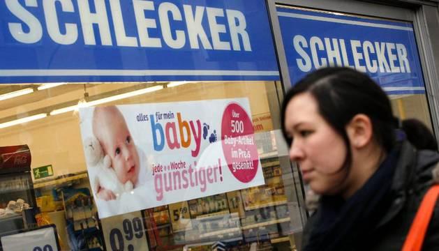 Una tienda de la cadena alemana Schlecker