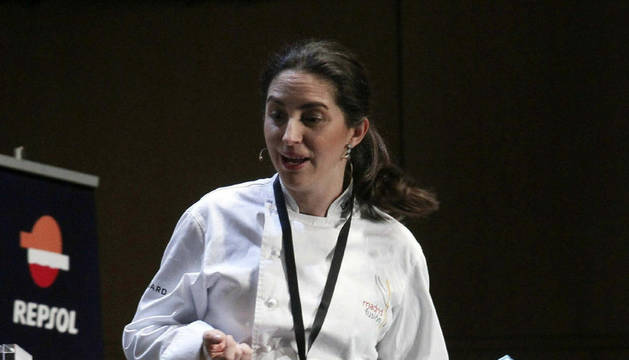 La cocinera donostiarra Elena Arzak, hija de Juan Mari Arzak
