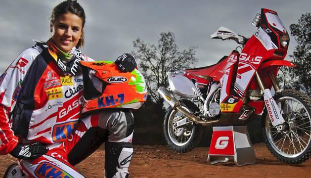 Laia Sanz, piloto española ganadora del Rally Dakar