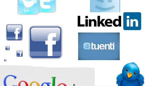 Logotipos de las redes sociales más famosas