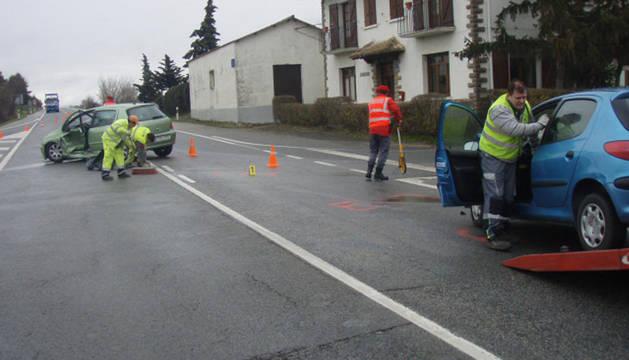 Imagen del accidente