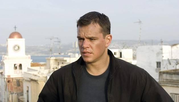 Matt Damon, en el Mito de Bourne